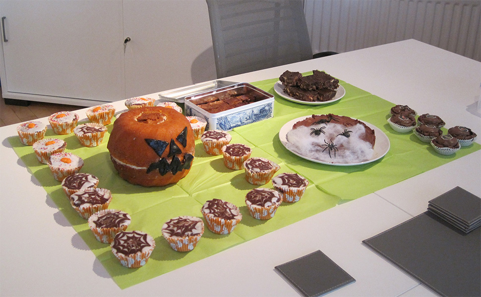 Team ED's Halloween Bakeoff is a piece of cake!