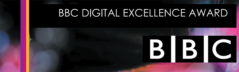 Enjoy Digital announced as Finalist for the BBC Digital Excellence Award
