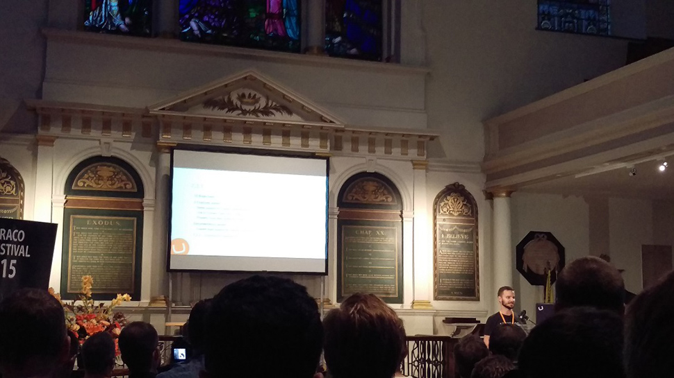 ED visits Umbraco UK Festival 2015