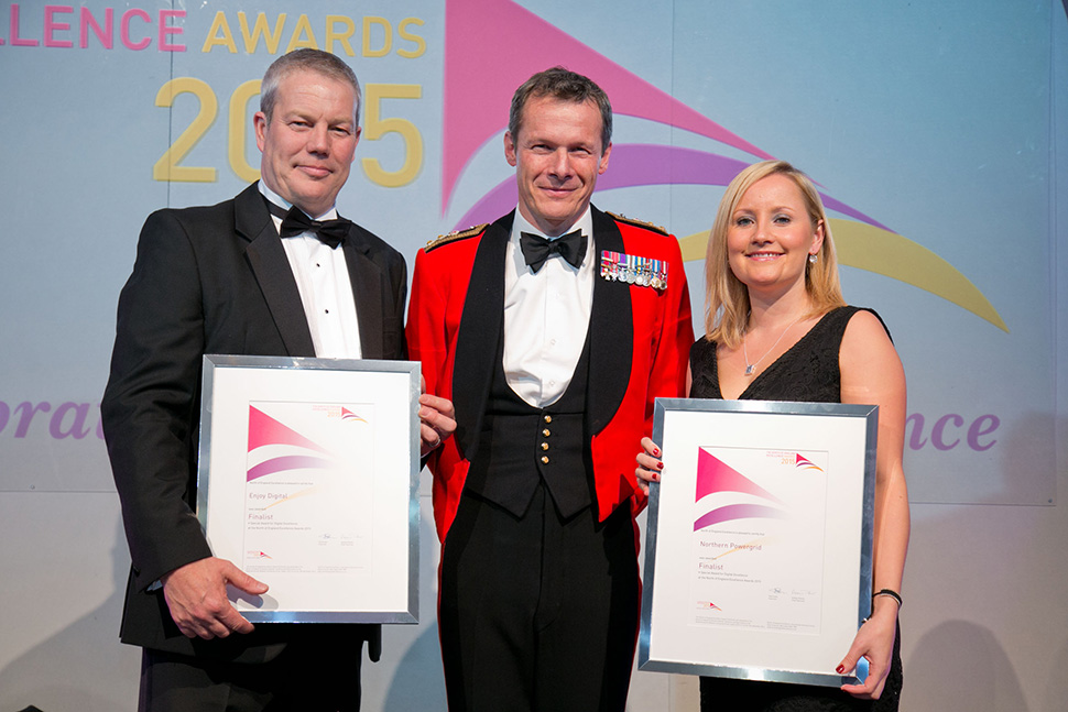 Enjoy Digital at the North of England Excellence Awards